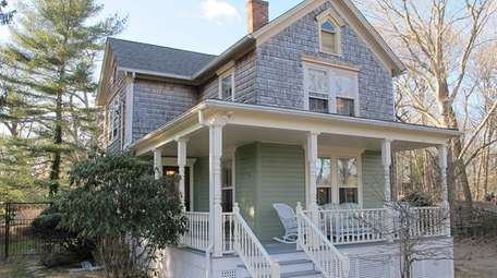 This Mattituck house was built in 1904 and