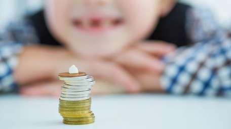 The Tooth Fairy's price per tooth has dropped