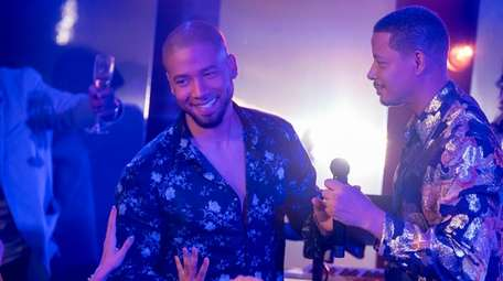 This image released by Fox shows Jussie Smollett,