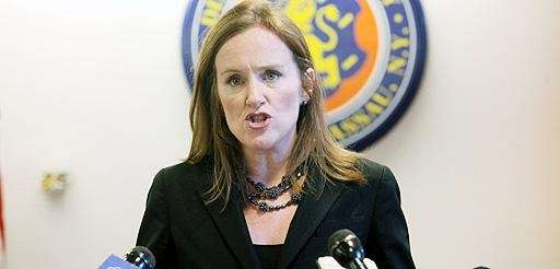 An undated file photo of Kathleen Rice at