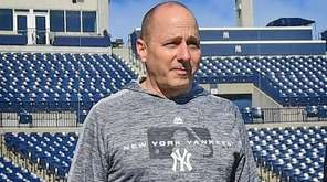 Yankees general manager Brian Cashman at George M.
