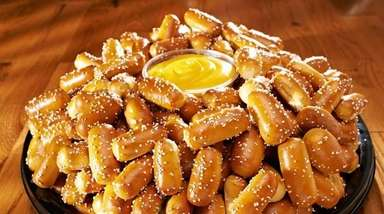 Philly Pretzel Factory recently opened in Syosset, serving
