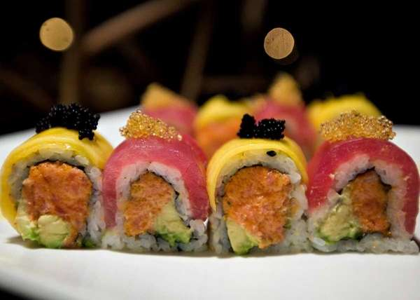 The Kinha Sushi roll is a medley of