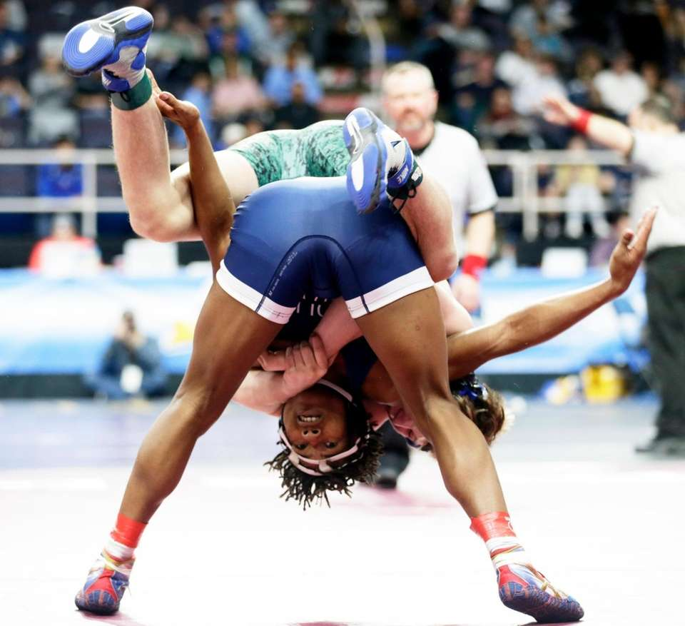 Lajess Sawyer Center Moriches is defeated in the