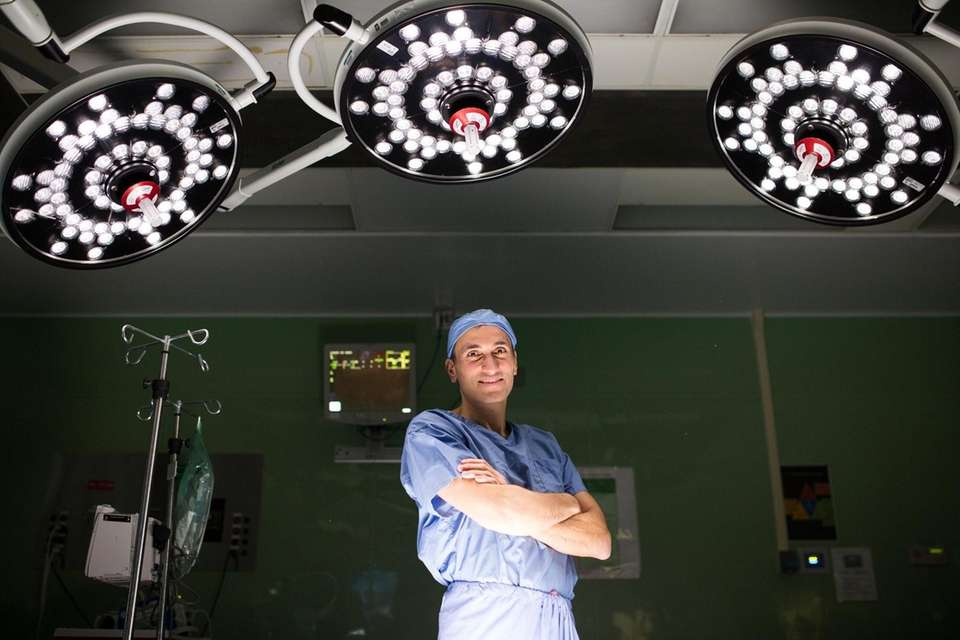 Dr. Henry Tannous, surgical director of the Structural