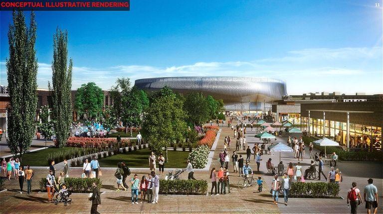 A conceptual illustrative rendering of the Nassau Hub