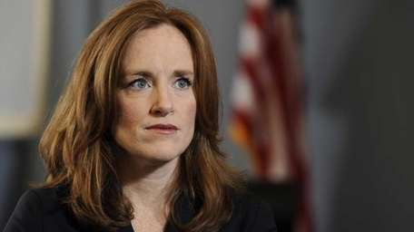 Nassau County District Attorney Kathleen Rice. (May 17,