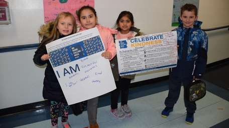 Students at Francis X. Hegarty Elementary School in
