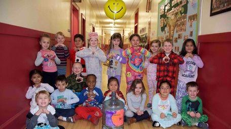 Children at Aquebogue Elementary School, in the Riverhead