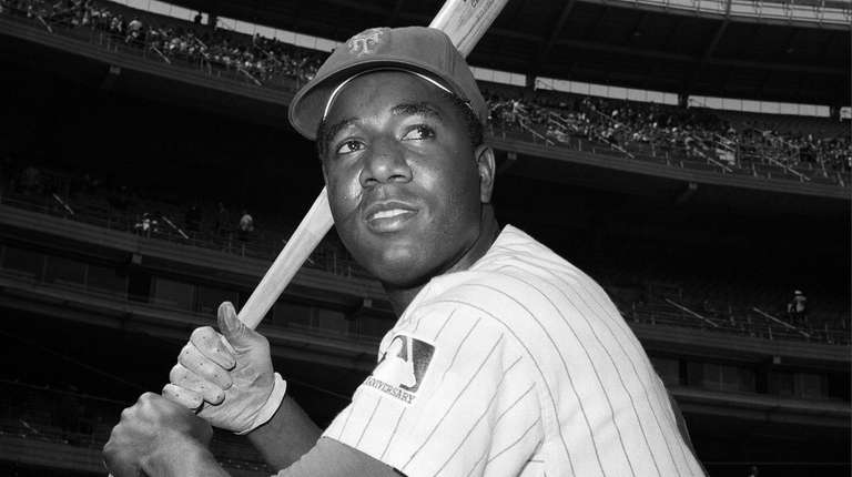 New York Mets baseball player, Cleon Jones, May