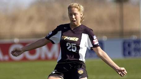 New York Power's Margaret Tietjen during A game