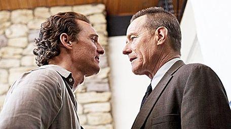 Matthew McConaughey and Bryan Cranston in