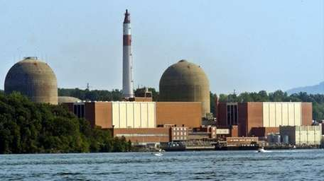 Undated file photo of the Indian Point Nuclear