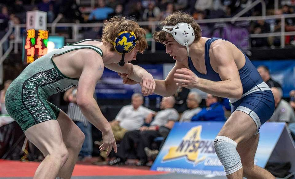 Haupauge High School Dan Maurello wrestling Massapequa High