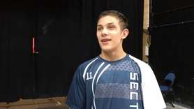 Hauppauge's Luke Smith talks about his quarterfinal win