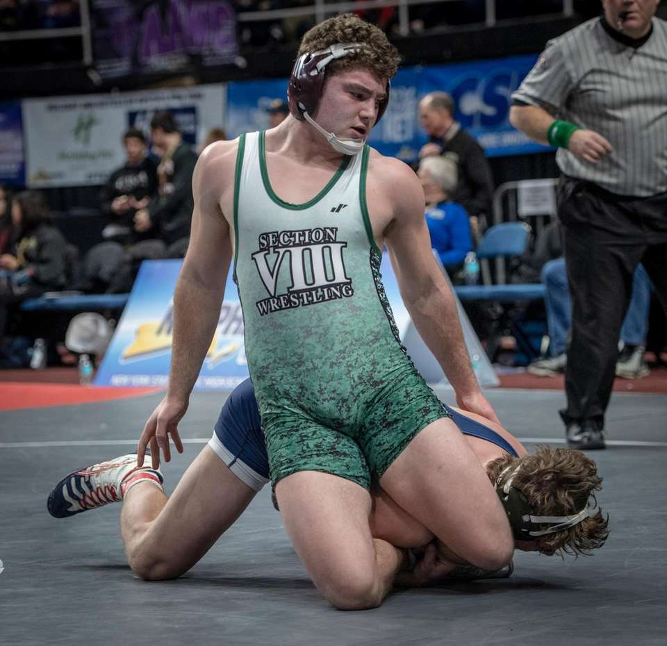 Liam McIntyre West Hampton wrestling Matt Hegi Mephon