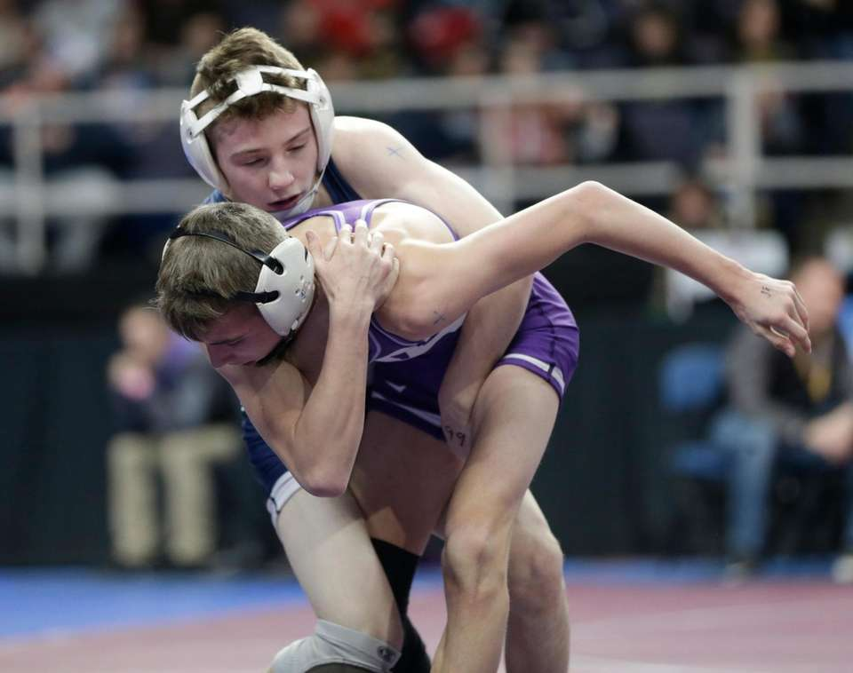 James Schafer, Palmyra-Macedon vs Max Gallagher, Bayport-BluePoint in