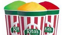 Italian ice from Rita's