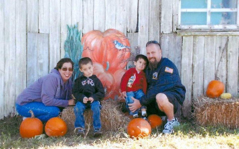 The Breitkopf family -- Paula, Connor, 6, Owen,
