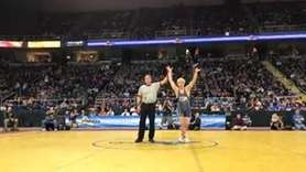 Eastport-South Manor's Adam Busiello defeated Niagara Falls' Willie