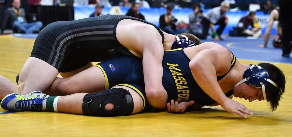 Angelo Petrakis, Massapequa is defeated 19-3 by Jake