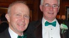 Joseph Kelly, l., and Francis