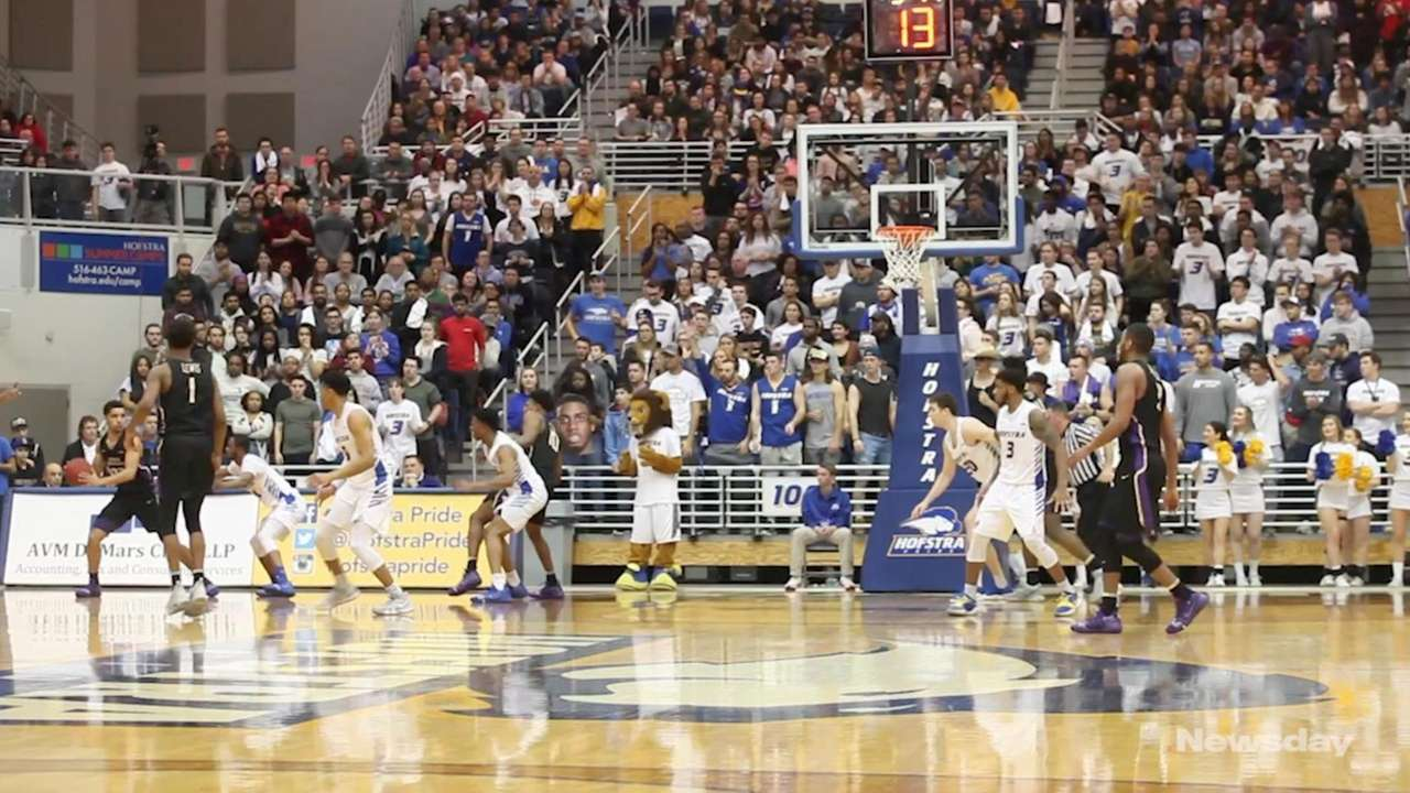The Hofstra men's basketball team suffered its second