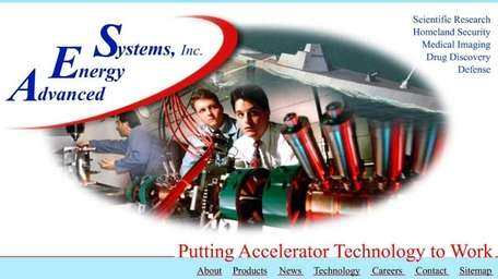 Advanced Energy Systems, of Medford, supplies superconducting accelerator
