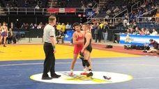 Jordan Titus of Center Moriches defeated Matt Garland