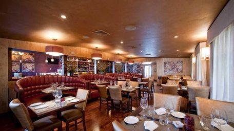 Interior shot of Vitae Wine Bar & Restaurant