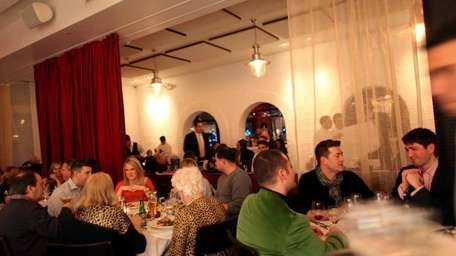 Patrons dine at Trata restaurant in Roslyn. (Feb.