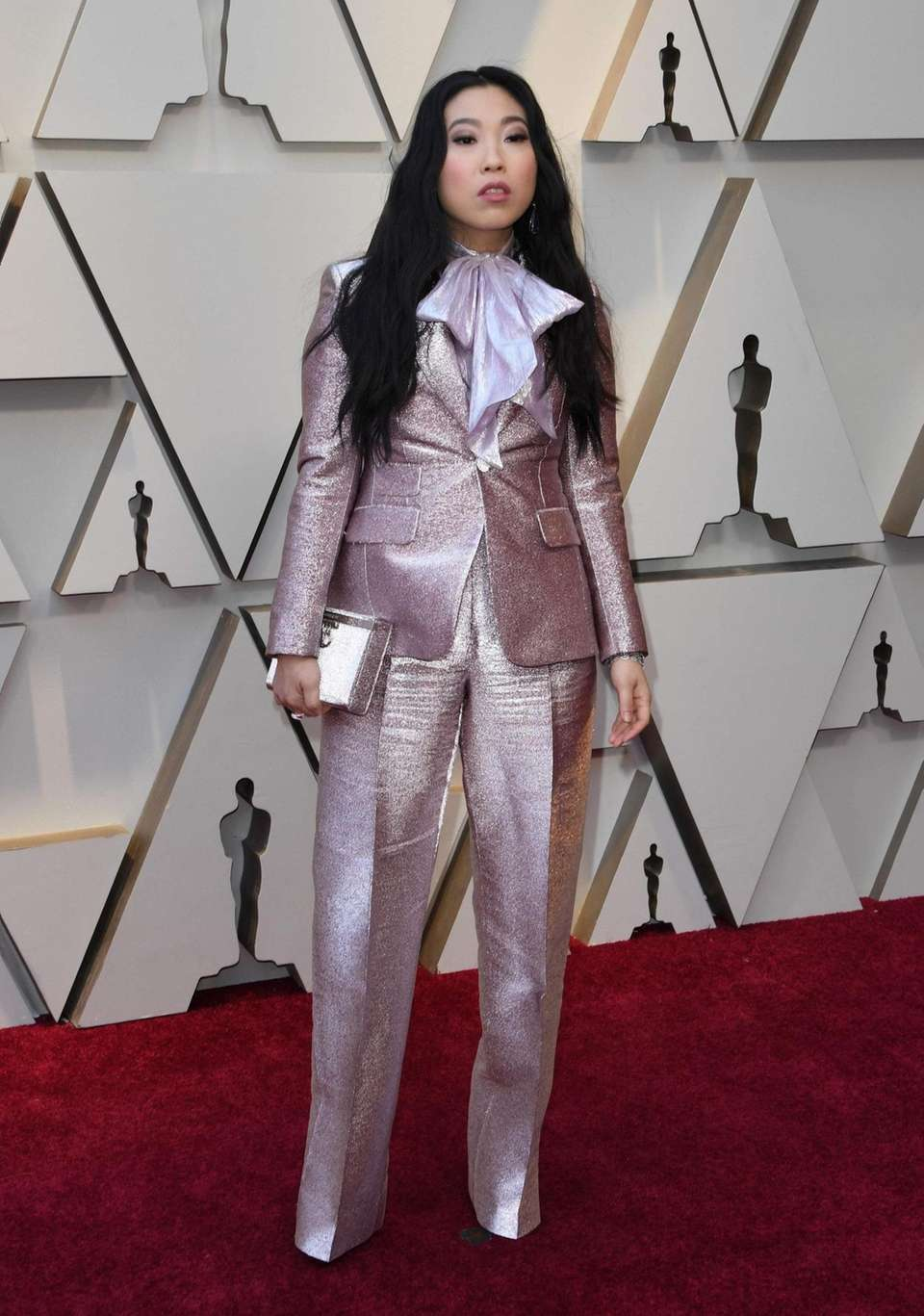 Actress/singer Awkwafina arrives for the 91st Annual Academy