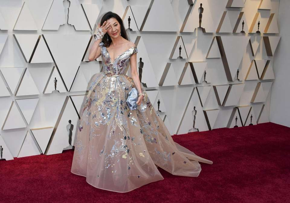 Actress Michelle Yeoh arrives for the 91st Annual