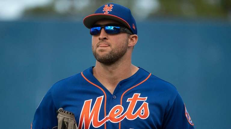 new style 33566 ec07f Mets reassign Tim Tebow to minor-league camp | Newsday