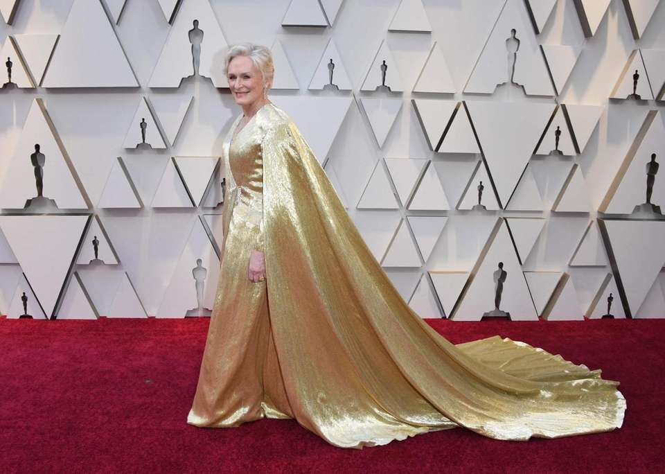 """Best Actress nominee for """"The Wife"""" Glenn Close"""
