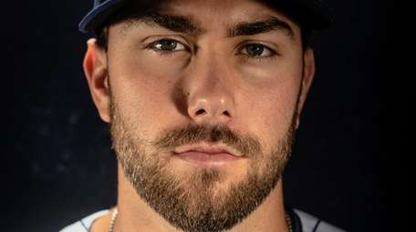 Mets pitcher David Peterson during spring training photo
