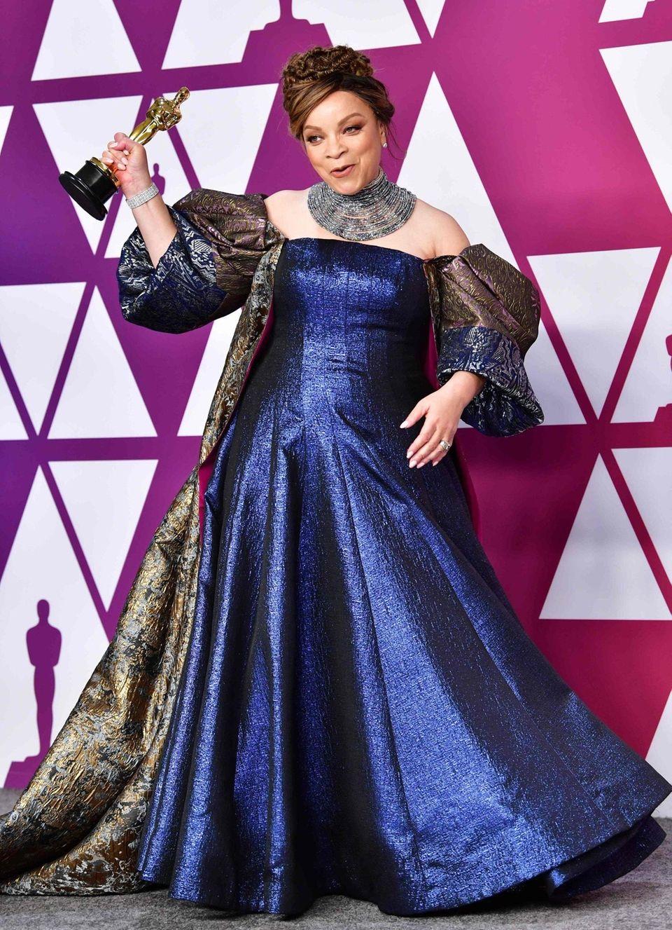 "Best Costume Design winner for ""Black Panther"" Ruth"