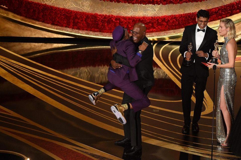 "Best Adapted Screenplay nominee for ""BlacKkKlansman"" Spike Lee"