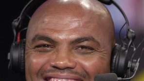 FILE - Charles Barkley works with the TNT