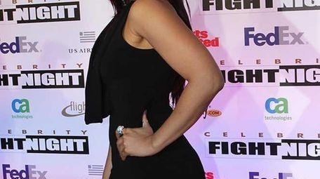 Singer Jordan Sparks arrives at Muhammad Ali Celebrity