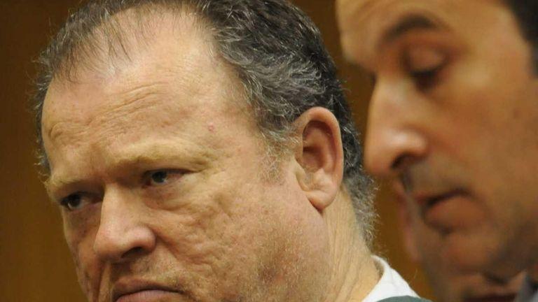 George Guldi, former Suffolk County legislator, inside a