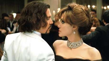 Depp and Jolie in