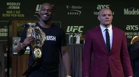 UFC light heavyweight champion Jon Jones and challenger