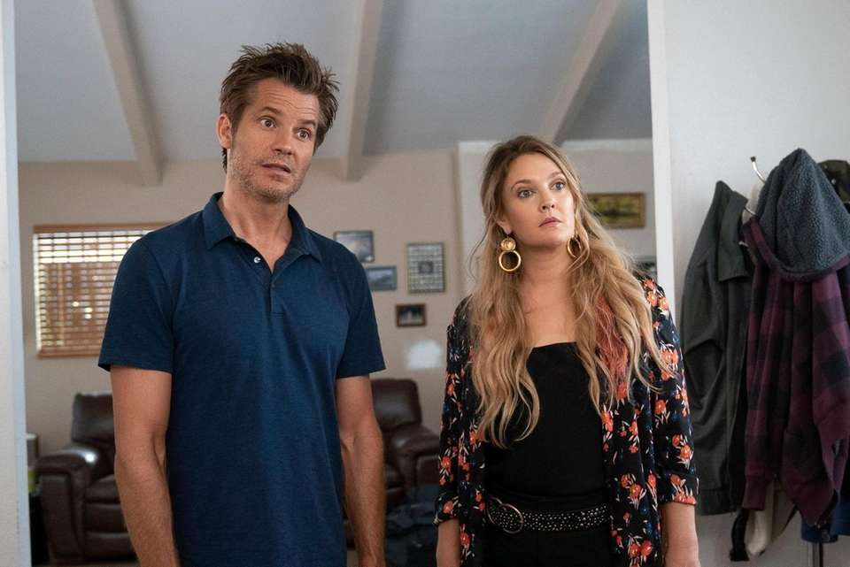 This series, about married realtors Joel (Timothy Olyphant)