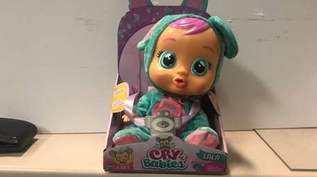 Rocking the Cry Babies doll will stop the