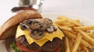 Prime Burger at Morton's