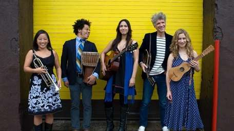 Dan Zanes and Friends will perform March 26