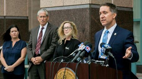 Palm Beach County State Attorney Dave Aronberg speaks