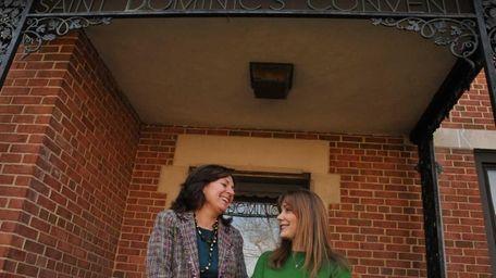 Denise Smith and Cecilia St. John, principals at