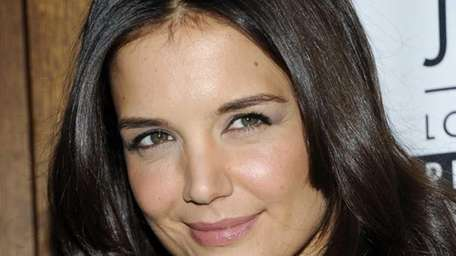 Katie Holmes attends a special screening of